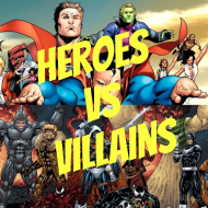 Super Heroes vs Villains 1/2 Marathon, 5k & Family 1 Mile run/walk