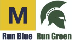 Run Blue/Run Green 5k