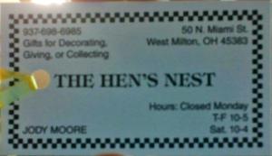 The Hen's Nest