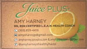 Juice Plus - Amy Harney