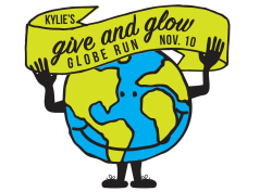 Kylie's Give & Glow run