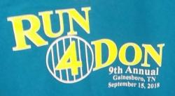 Run 4 Don 15K / 5K