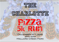 The Charlotte Pizza 5k Run