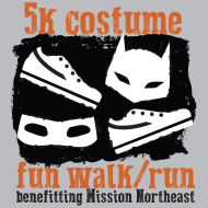 5K Costume Fun Walk/Run benefiting Mission Northeast