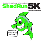 Shad Run 5k and 1 Mile Health Walk