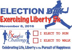 Election Day USA - Exercising Liberty 5k