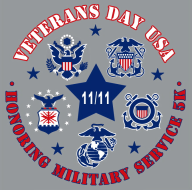 Veterans Day USA  - Honoring Military Service 5k (11th Annual)