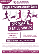 People & Paws for a Worthy Cause 5k