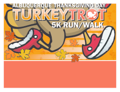 Albuquerque Thanksgiving Day 5K