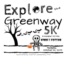 Explore The Greenway 5K & Monster 1/2 Mile (Spooky Edition)