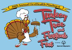 FirstHealth Pinehurst Turkey Trot and FlapJack Fest Logo