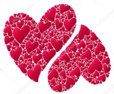 """Valentine's Hearts """"R"""" Running 5k"""