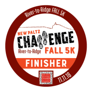 New Paltz Challenge River to Ridge Fall 5k