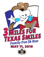 3 Miles for Texas Smiles Family Fun 5K Run