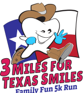 "3 Miles for Texas Smiles Family Fun ""VIRTUAL"" 5K Run August 1 - October 3, 2020"