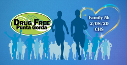 Drug Free Punta Gorda 5k / Fun walk