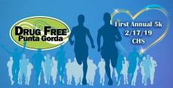 Drug Free Punta Gorda 5k / Fun walk