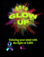 GLOW Up: 5k Neon Glow Fun Run - Coloring Your Mind with the Light of LIFE