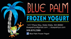 Blue Palm Frozen Yogurt