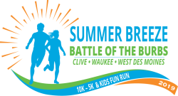 Summer Breeze Run - Battle of the 'Burbs - 10K, 5K & Kids Fun Run