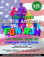 First Annual Lobo Band Honor America Fun Run