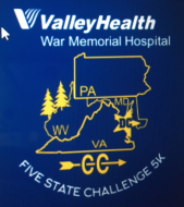 Valley Health War Memorial Hospital Five State Challenge 5K