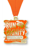 2014 Days For Girls Run For Dignity - Virtual 5k, 10k, Half Marathon, Marathon
