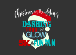 Dashing thru the Glow 5K