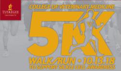 College of Veterinary Medicine 'Strides for a Cure' 5K Walk/Run
