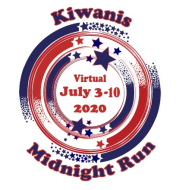 Kiwanis Midnight Run Virtual 2020 Logo