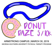 Donut Daze - Georgia Southern Physical Therapy Road Race 2019