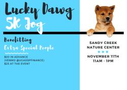 DSP Lucky Dawg Jog