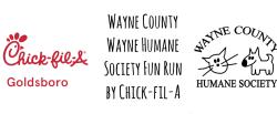 Wayne County Humane Society Fun Run by Chick-fil-A