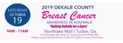DeKalb for a Cure Breast Cancer 5k Run/Walk