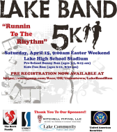 Lake Band Easter 5K Run/Competitive Walk