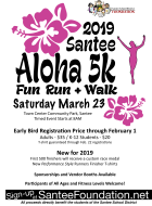Santee Aloha 5K Fun Run & Walk 2019