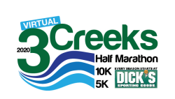 IT'S NOT Three Creeks Half Marathon 10K & 5K - VIRTUAL 2020 EDITION