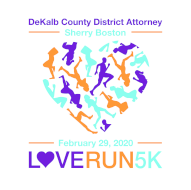 5th Annual Love Run 5K presented by DeKalb County District Attorney Sherry Boston on Leap Day!