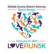 6th Annual Love Run 5K presented by DeKalb County District Attorney Sherry Boston