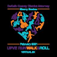 NOW VIRTUAL     6th Annual Love Run, Walk, Roll 5K presented by DeKalb County District Attorney Sherry Boston