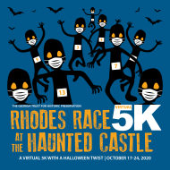 Rhodes Race at the Haunted Castle Virtual 5K