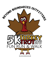 Beyond Boundaries Outfitters Turkey Trot 5K