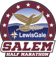 LewisGale Salem Half Marathon, 8K and Kids Fun Run Logo
