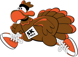 1st Annual Parvin Turkey Trot & 1-mile Fun Walk