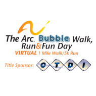 The Arc of Chester County VIRTUAL Bubble Walk, Run and Fun Event!