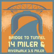 Bridge to Tunnel 14 Miler & Riverwalk 3.5 Miler
