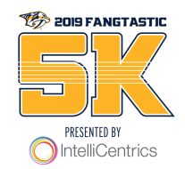 2019 Nashville Predators Fangtastic 5k Run/Walk, Presented by IntelliCentrics