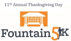 Thanksgiving Day Fountain 5k