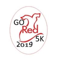 Go Red Go Run Tutu 5K