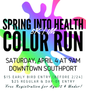 Spring Into Health COLOR Run/Walk